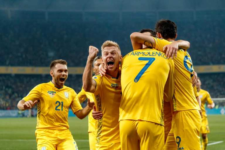 Оцінені шанси збірної України на Євро-2020